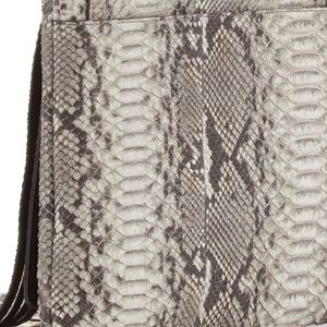 7103f65d9ef2 Michael Kors Collection Bags - Michael Kors Collection Joni Python Fringe  Bag